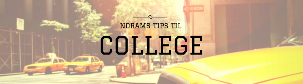 NORAM tips til college