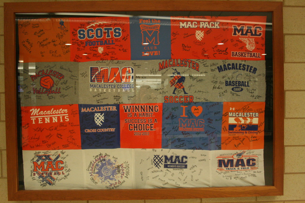 Sport shirts ved Macalester College